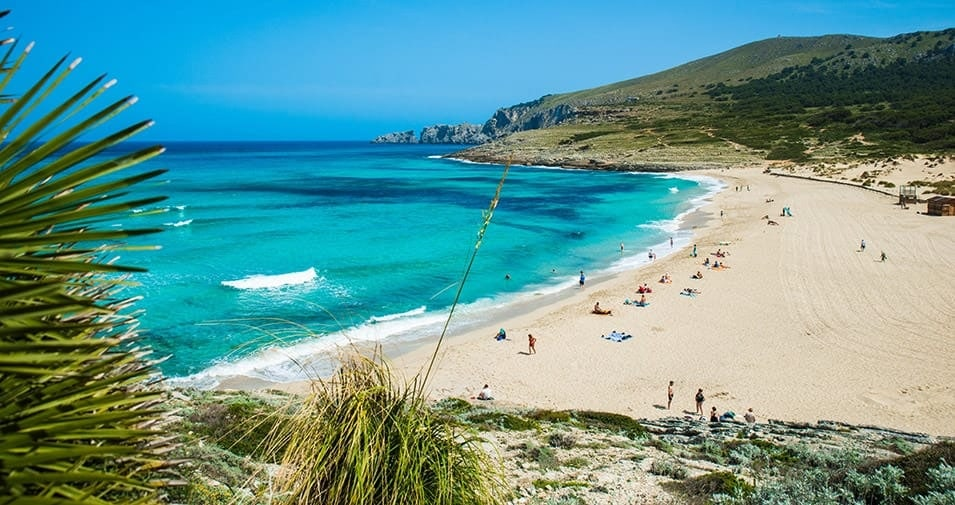 Faire une visite à Cala Mesquida : plus belle plage de Majorque