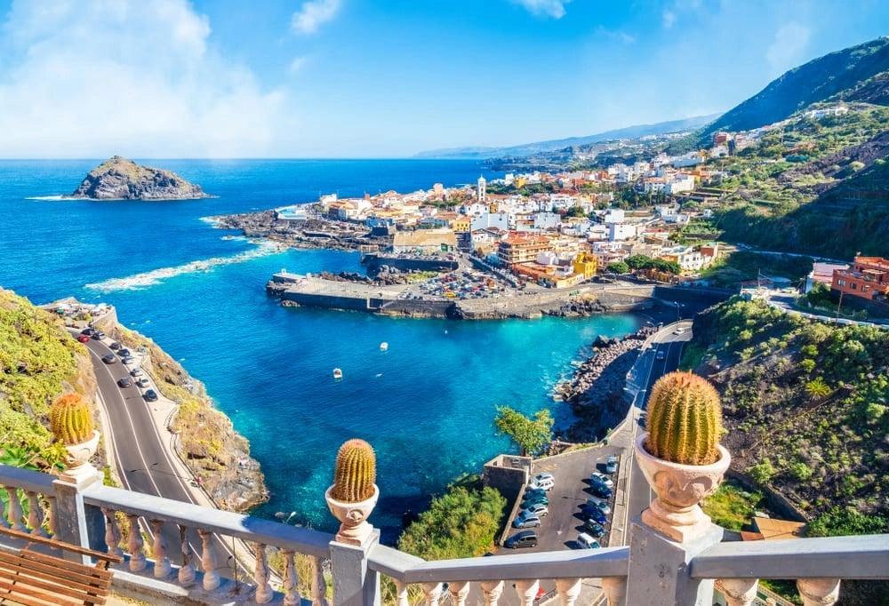 Paysage Tenerife : îles Canaries climat agréable en Janvier