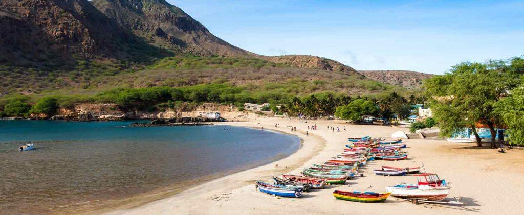 Cap Vert : plage de Santiago en mai