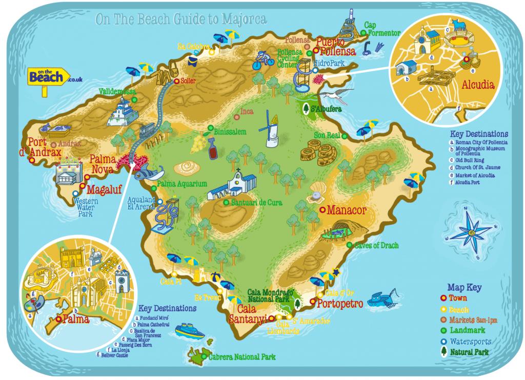 Carte touristique de Majorque : les lieux à visiter