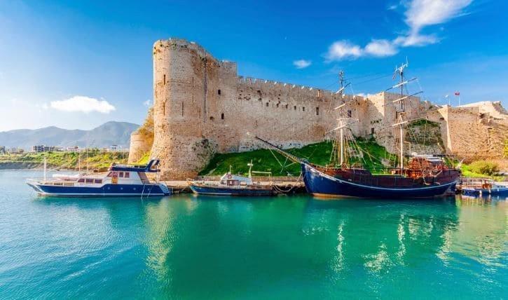 Port de Kyrenia à Chypre