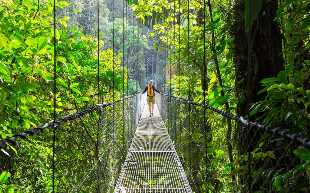 Costa Rica : partir en vacanaces en Février