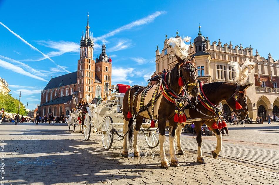 Partir à Cracovie en avril
