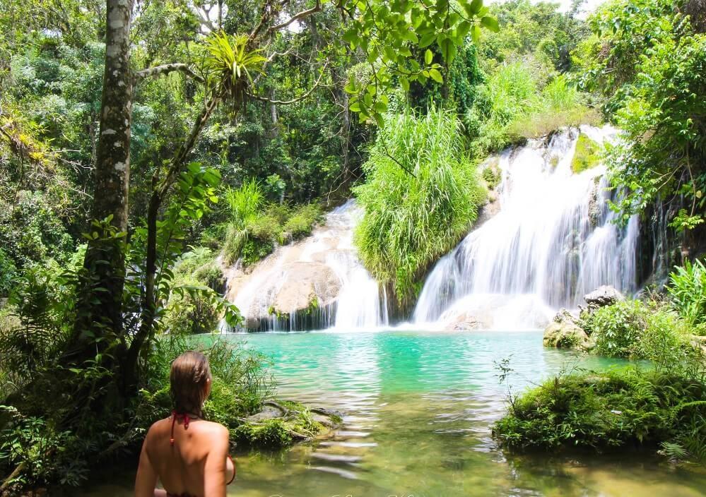 Cascades El Nicho à Cuba