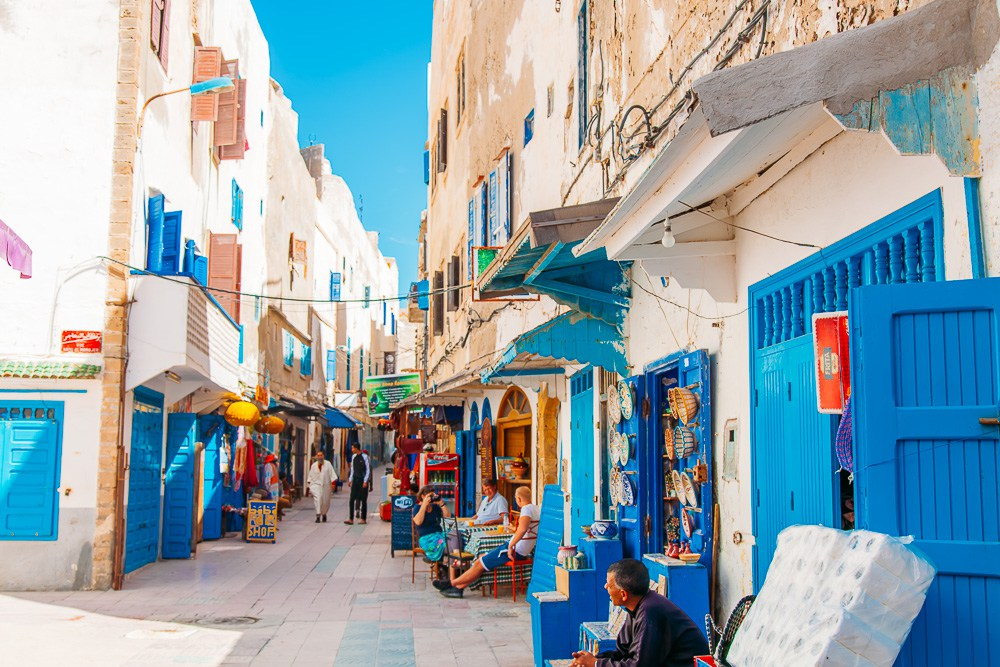 Médina Essaouira , Maroc
