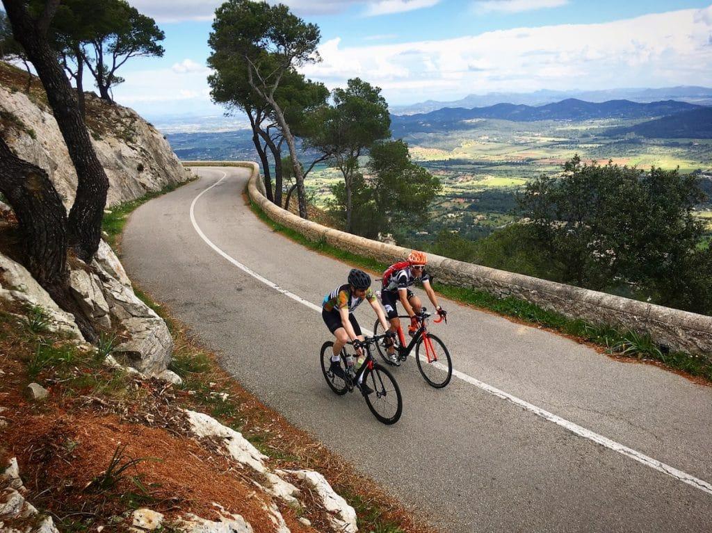 Faire du vélo , du cyclisme à Majorque