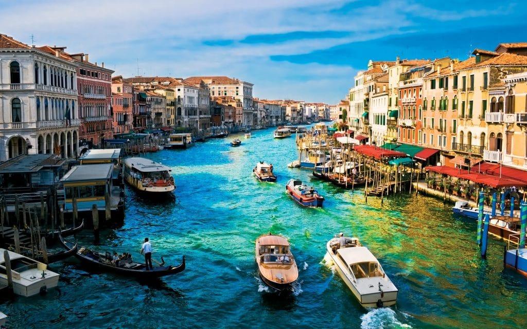 Grand Canal de Venise en Javier