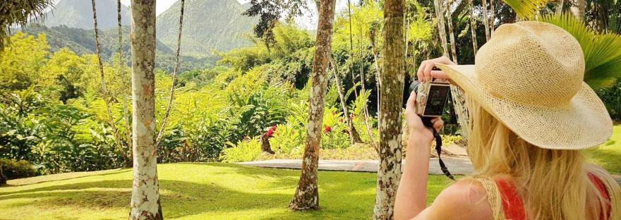Jardin Botanique Balata en Martinique