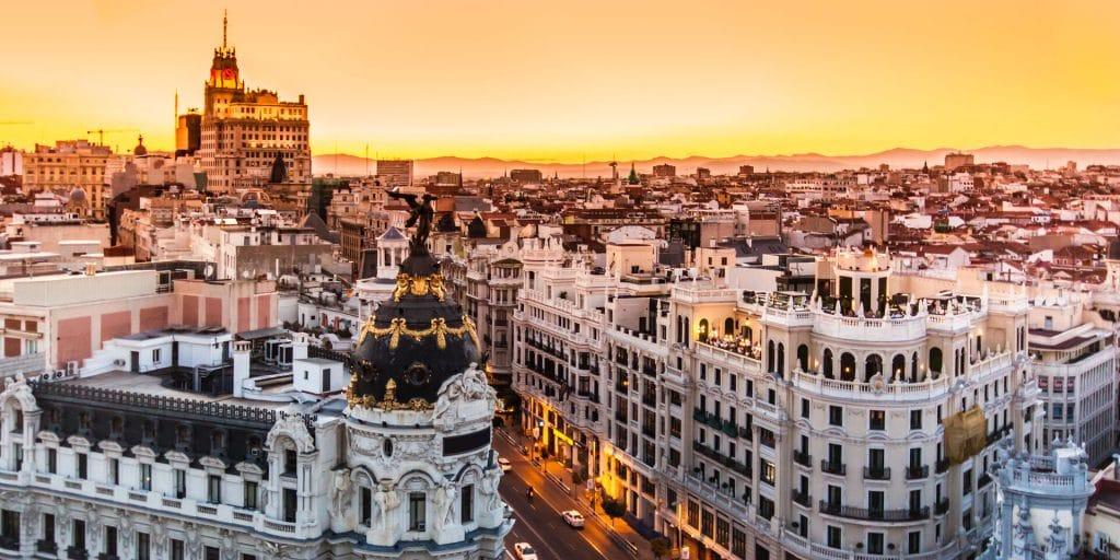 Aller à Madrid en octobre