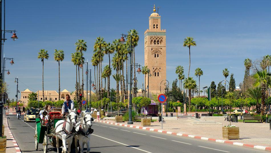 Mosquée de Koutoubia à Marrakech, Maroc