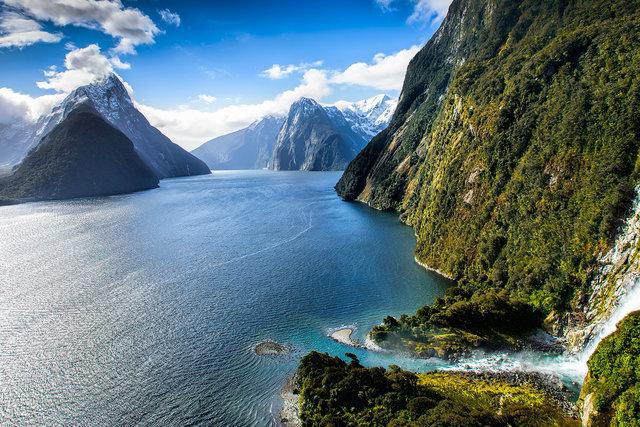 Fjord Milford Sound : partir en jullet pour visiter la nouvelle zeland