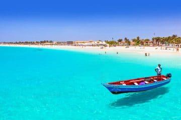 Partir en juillet à l'île de Sal au Cap Vert