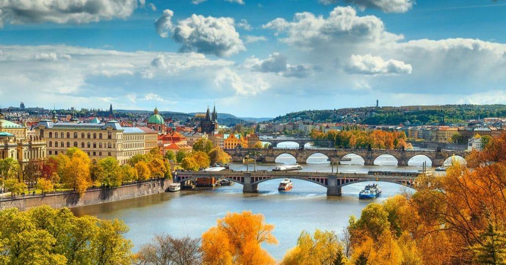 Le pont Charles à Prague , République Tchèque