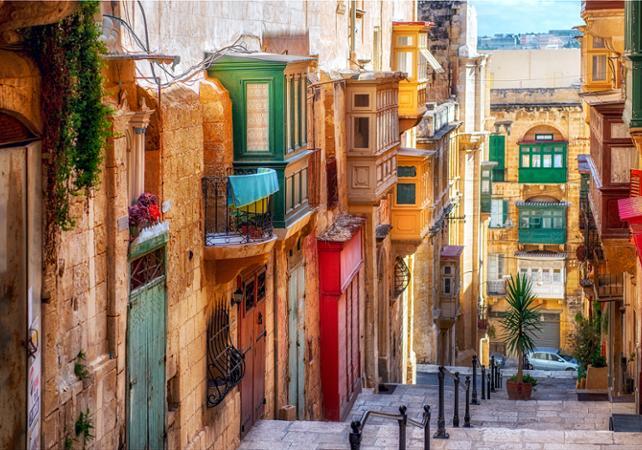 partir à Malte en octobre