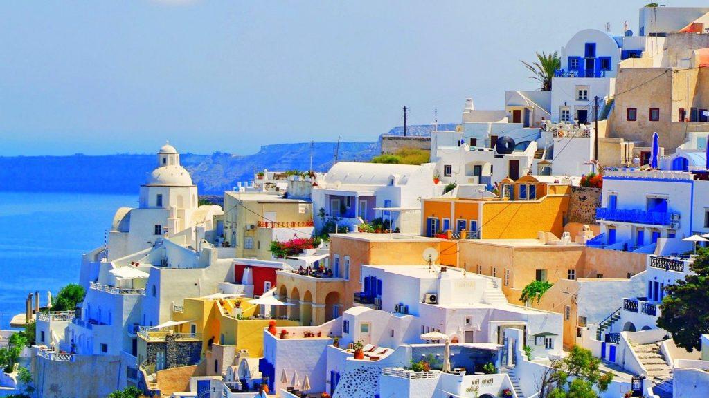 Santorin, Grèce :lieux à visiter en août
