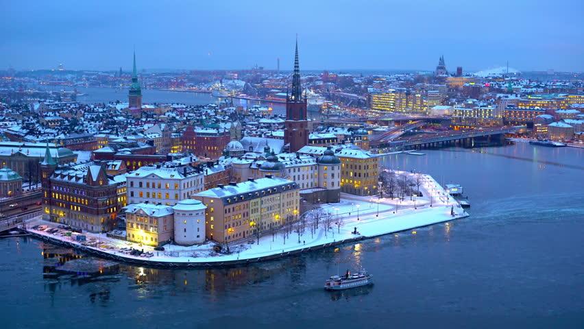 Visiter Stockholm en janvier