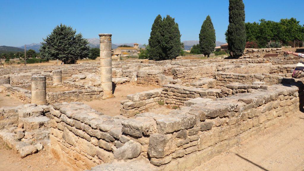 vestige archéologique de Pollentia à Majorque