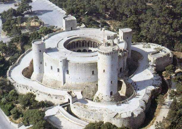 Chateau de Bellver -Baléares