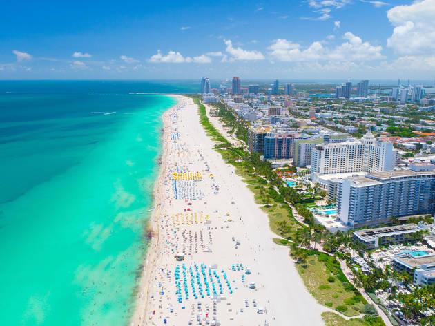 Miami Beach au sud ouest de la Floride