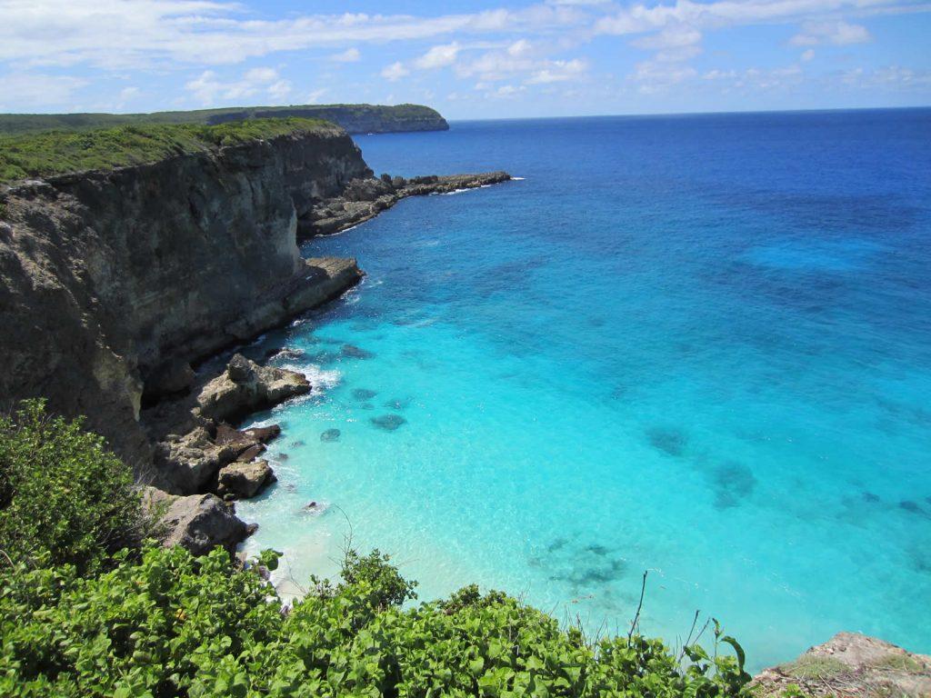 Pointe de la Grande Vigie : Plage Anse Bertrand Guadeloupe