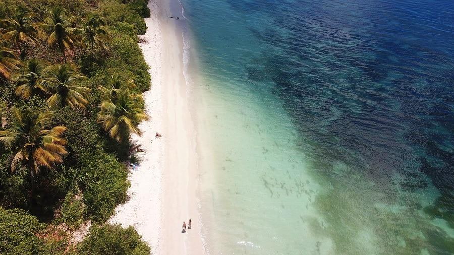 Plage de Guadeloupe Marie Galante