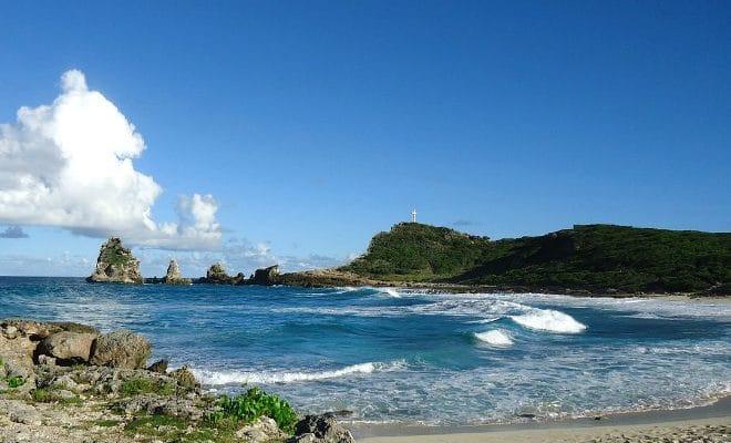 Plage de Guadeloupe : Pointe des Chateaux