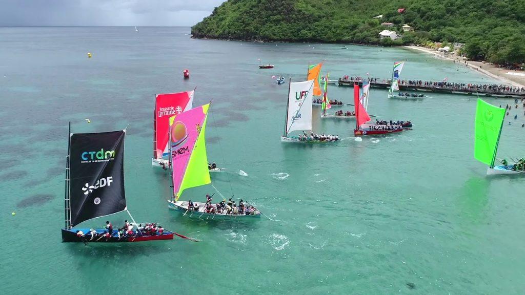 Assister à une course de yoles en Martinique
