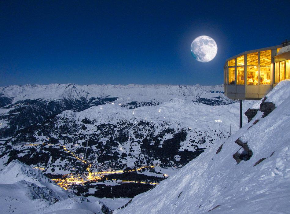 Deux meilleures stations de ski suisse