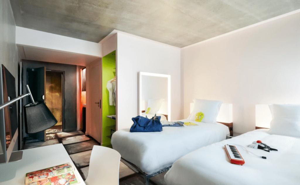 Meilleur hotel à Lyon : Hotel Mama Shelter