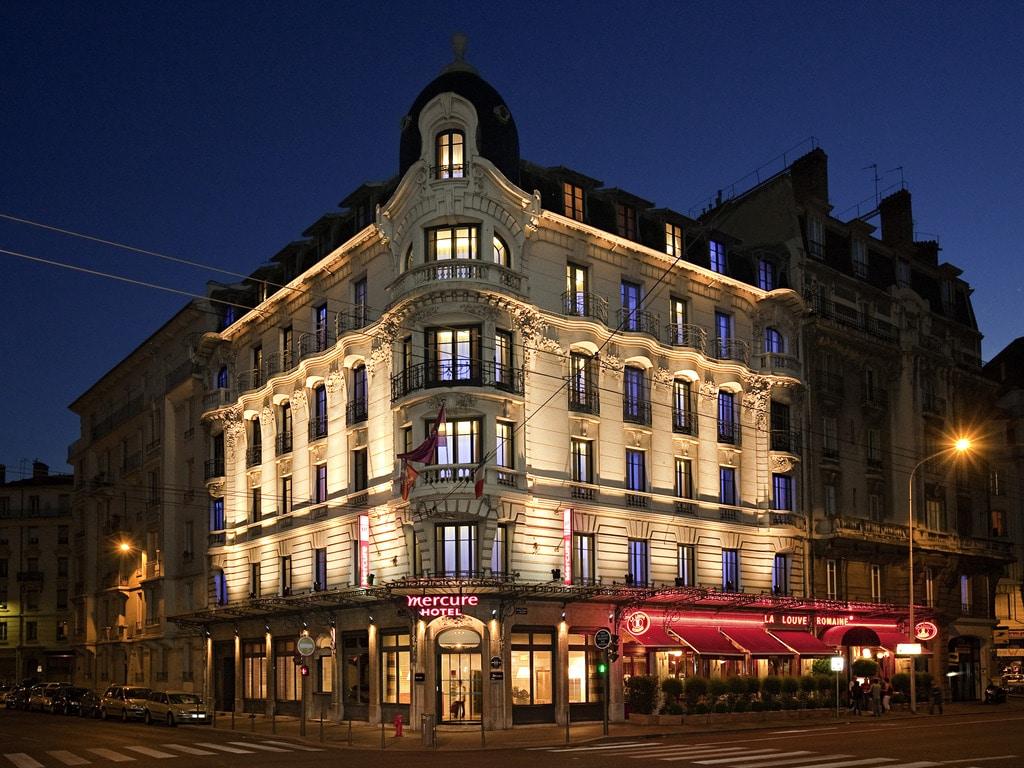 Hotel de luxe Mercure Lyon CentreBeaux arts