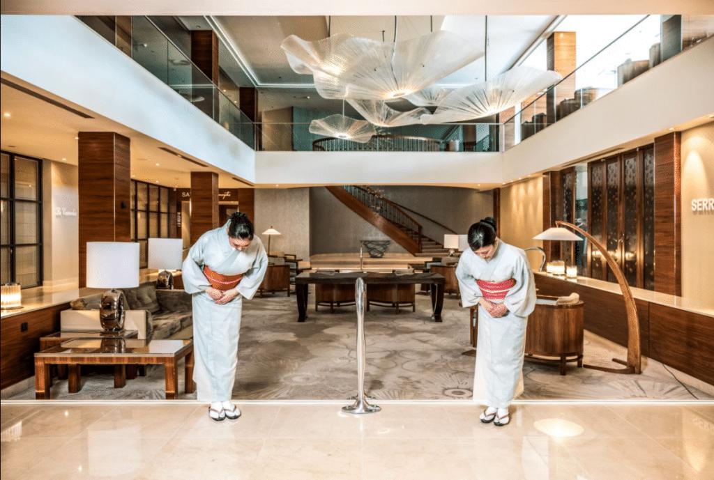 Hotel Amsterdam Okura : Hotel Japonais