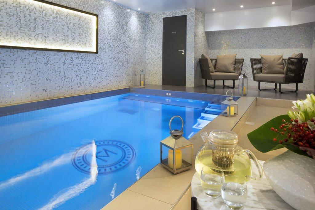 Hôtels Paris avec spa : Hôtel les Matins