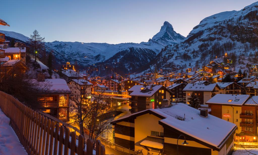 domaine Skiable à Zermatt en Suisse
