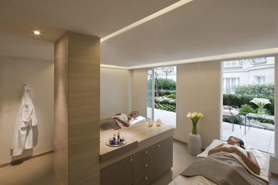 Hôtels  de luxe avec Spa à Paris : Cabine de spa au Bristol