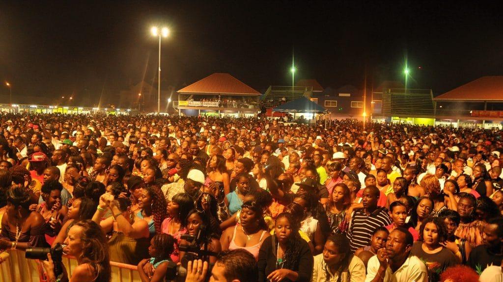 Carnival Village : stade du carnaval à Saint Martin