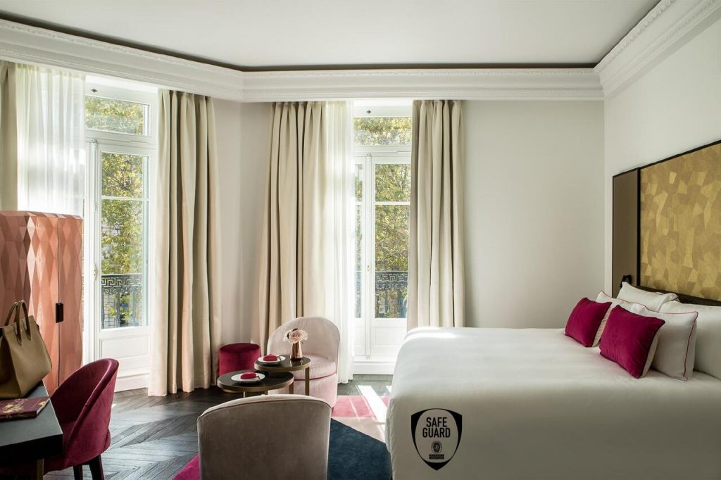 Hôtel avec Spa à Paris : Fauchon l'Hôtel deluxe 5 étoiles