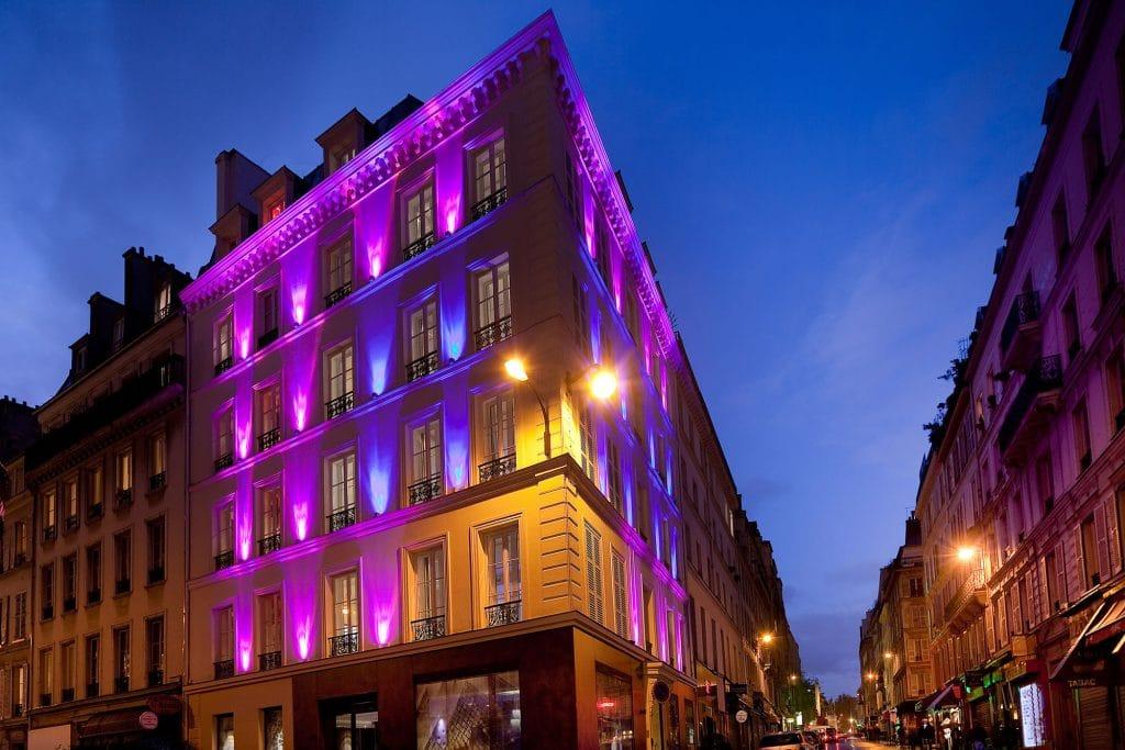 Hotel parisien de luxe avec Spa