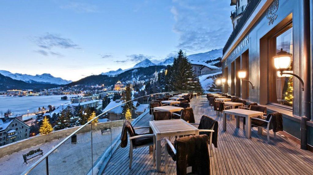 Hotel Saint Moritz en Station de ski Suisse