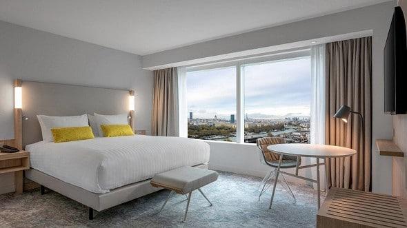 Hotel Gare de Lyon à Paris :  Coutyard