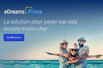 Edreams Prime : Programme de fidélité voyage