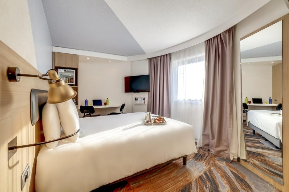 Hotel à Paris à la Gare de Lyon :  Chambre Hotel Mercure