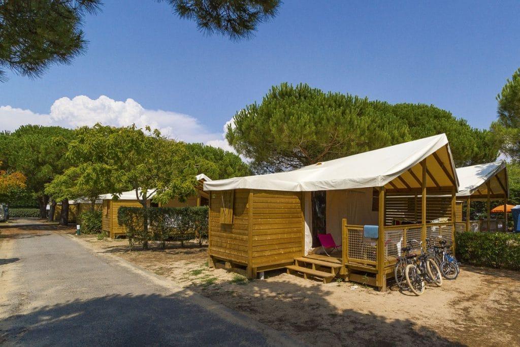 Camping le Damier : Corse du Sud