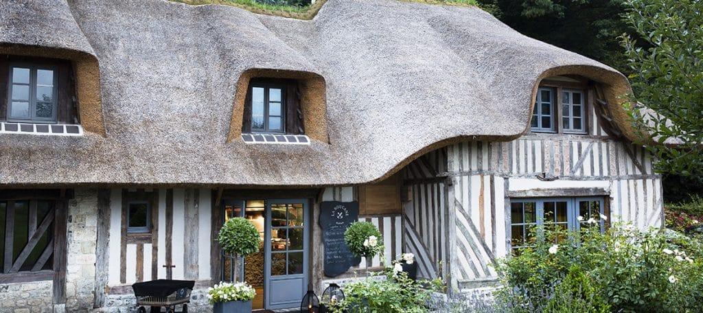 Ferme saint siméon : hotel de luxe en normandie