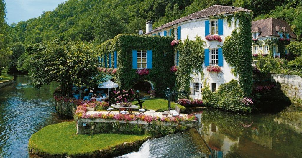 Paysage Périgord en France